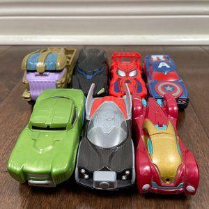 7 Hot Wheels Marvel Flip Fighters